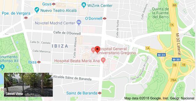Parking Hospital Gregorio Marañón