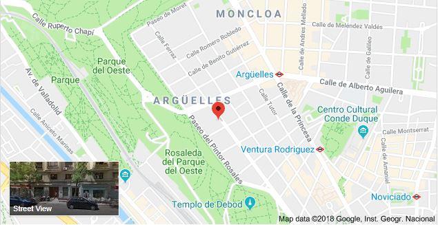 Parking Argüelles