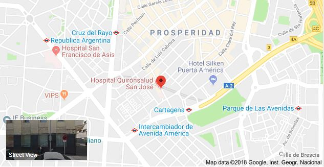 Parking Hospital Quirónsalud San José