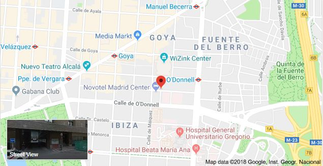 Parking Hospital Universitario Santa Cristina