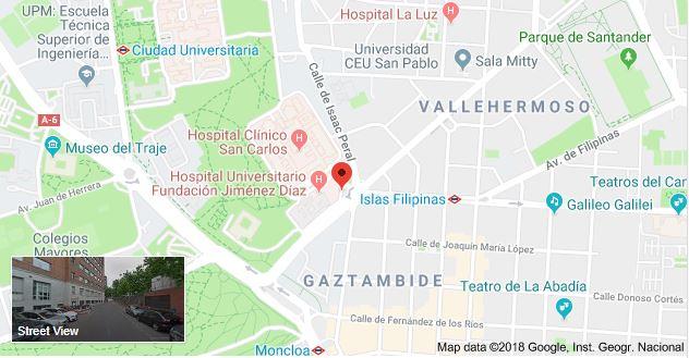 Parking Fundación Jiménez Díaz